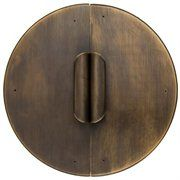 AB-0226: Curled Handle Cabinet Face Plate 9'' cabinet hardware