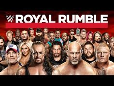 The road to Wrestlemania has begun. The stop is Royal Rumble. As 30 men enter the ring for an over the top battle royal to see who will head to the main event at Wrestlemania. This year's match. Wwe Royal Rumble 2017, Road To Wrestlemania, Full Match, Match Highlights, Pay Per View, Battle Royal, Sports Betting, Professional Wrestling, Picture Video