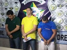 DE OLHO 24HORAS: Trio é preso em AL suspeito de aplicar golpes em e...