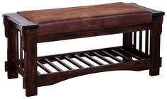 matches rocking chair - Santa Fe Bench w/ Cushion Seat by Sunny Designs