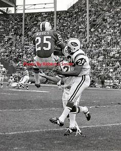 Buffalo Bills Haven Moses VS  NY Jets  1968 |