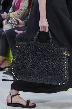 Valentino Spring 2020 Ready-to-Wear Collection - Vogue Unique Handbags, Cute Handbags, Purses And Handbags, Luxury Handbags, Cheap Handbags, Brown Handbags, Popular Handbags, Trendy Handbags, Fashion Handbags