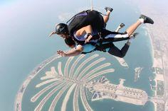 Adventurous Sky Diving in Dubai