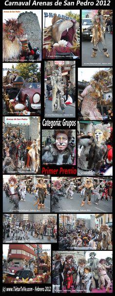 Carnaval de Adultos 2012 de Arenas de San Pedro. Grupo de Broadway / Cats. Primer Premio.