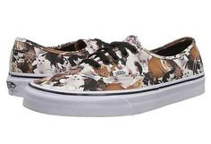 ASPCA Labeled VANS Women Size 8.0 Cats Kittens Fashion Shoes SOLD OUT @ VANS