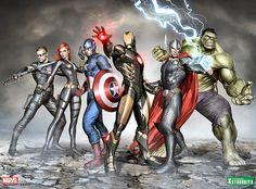 The Avengers by Adi Granov