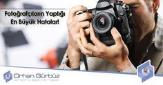 Fotoğrafçıların yaptığı en büyük hatalar, aşırı lens kullanmak, temizliği ihmal etmek, yanlış flaş kullanımı ve ufuk çizgisini doğru tespit edememek. http://www.orhangurbuz.com/fotografcilarin-yaptigi-en-buyuk-hatalar/   #fotoğrafçılarınhataları #fotoğrafçıhataları #fotoğrafçıyanlışları