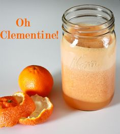 OH CLEMENTINE! I love this sweet, tangy juice! It's like sunshine in a glass!! You can find boxes of the Cuties clementines everywhere this time of year and they are inexpensive too! They make such a lovely little juice, it's hard to put into words how absolutely delicious it is!! 5 peeled clementines  2 large grapefruit