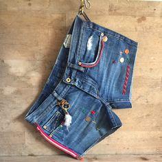 Vintage hippie hot pants , Ibiza style