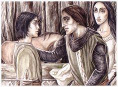 Maeglin, Eol and Aredhel by peet.deviantart.com on @deviantART