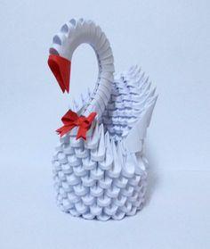 3D Origami WHITE SWAN 2 by designermetin on deviantART