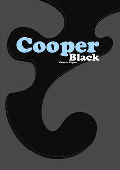 """E.6 """"Typography"""" (Cooper Black)"""