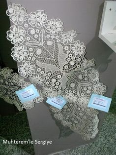 Point Lace, Diy And Crafts, Decoration, Crochet, Romanian Lace, Chrochet, Embroidery, Decor, Decorating