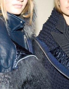 Paris Fall/Winter 2014 Backstage at Sacai Photography by Mara Corsino