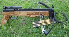 Flying wolf pistol crossbow mods