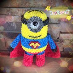 Amigurumi Minion Superheroes : 1000+ images about Rainbow Loom on Pinterest Minions ...
