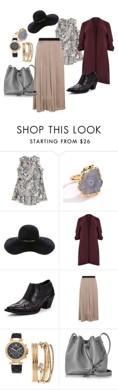 """""""Outfit #41"""" by allieemet on Polyvore featuring Melissa McCarthy Seven7, Eugenia Kim, River Island, Glamorous, Mat, Jessica Carlyle, Lancaster and plus size clothing"""
