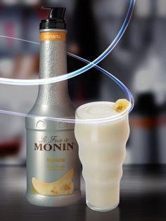Monin Banán Püré 1 L