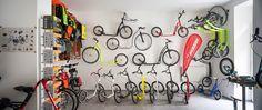 footbike wall in my shop