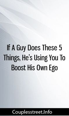 If A Guy Does These 5 Things, He's Using You To Boost His Own Ego #relationships  #breakup #getexback Ego Relationship, Looking For A Relationship, Marriage Life, Relationships Love, Pregnancy Help, Pregnancy Guide, Pregnancy Care, Pregnant Mother, Pregnant Wife