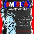 """This """"All About the United States of America"""" booklet can be used for a very basic country study in lower elementary grades!  Just print out the pa..."""