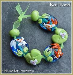 All of the Moonraker handmade beads are great!  I ordered some today :)