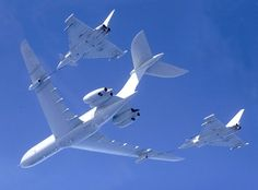 RAF Vickers VC-10K tanker/transport refuelling a pair of Eurofighter Typhoon IIs. Retiring from RAF service after 47 years service September 2013. Will be replaced by the Airbus Military A330 MRTT (Multi Role Tanker Transport).