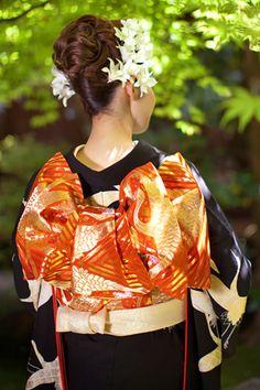Updos for Beautiful Japanese Kimono ღ
