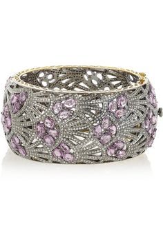 DIAMOND CUFFS AND BANGLES PINTEREST   Artisan   Sterling silver, sapphire and diamond bangle   cuffs