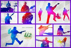 The Miracle U2 Band, Bono Vox, Paul Hewson, Living Legends, Places, King, Lugares