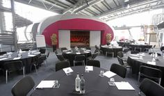 POD theatre circulation area @CEMEConference Centre #East London + 17 flexible meeting rooms