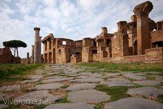 Conoce la antigua ciudad de Ostia Antica #roma #viajar #italia