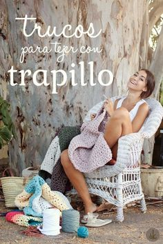 TACHUELAS DIY & CO: TRAPILLO: Guía para iniciarse en la labor DIY más sostenible Crochet Home, Love Crochet, Learn To Crochet, Crochet Yarn, Crochet Birds, Crochet Animals, Crochet Motifs, Crochet Stitches, Crochet Patterns