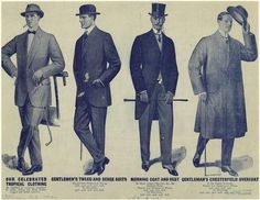 Tropical Men's Clothing, c. 1913. Source: New York Public Library.