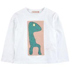 Marni - 针织棉质T恤 - 138122