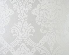 Tapet Medaljong vitt mot metallicbotten Stage Design, My Room, Sweet Home, Tapestry, Flooring, Wallpapers, Image, Backgrounds, Walls