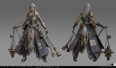 ArtStation - Agnes the priestess, byungkwon gang