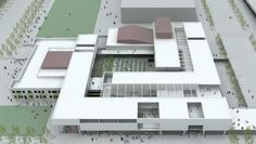 allied works architecture - Booker T. Washington High School for the Performing & Visual Arts