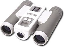 LIghtweight, compact binoculars with built-in digital camera. Gotta see all those moose and bears and whales.