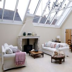 Conservatory living area | House tour | PHOTO GALLERY | Country Homes and Interiors | Housetohome.co.uk