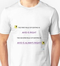 The first rule of editing... Unisex T-Shirt