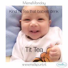 Kind of Tea that babies drink  Tit Tea