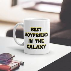 star wars mug, star wars boyfriend, gift for him - BEST BOYFRIEND IN THE GALAXY