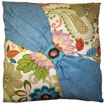 Loa Garden Center Tie Pillows (2)