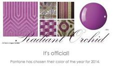 Radiant Orchid patterns and textures