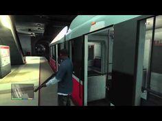 GTA 5: Subway Terror Simulator (Grand Theft Auto 5 Gameplay)
