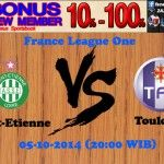 Prediksi Pertandingan Saint-Etienne Melawan Toulouse 5 Oktober 2014 France League One