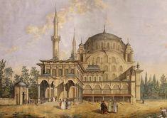 Nusretiye Camii İstanbul 19.yüzyıl Nusretiye Mosque Istanbul 19th century