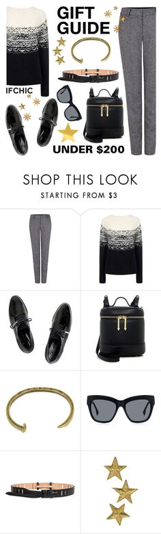 """""""Gift Guide: Under $200"""" by ifchic ❤ liked on Polyvore featuring Pink Tartan, Paul & Joe Sister, C/MEO COLLECTIVE, TIBI, Giles & Brother, Steven Alan, McQ by Alexander McQueen and contemporary"""