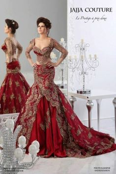 2014 new style red wedding dress sari influence